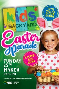 Kids Backyard – Easter Parade
