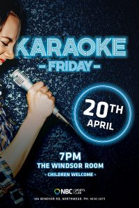 Karaoke Friday – April