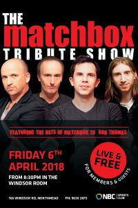 Matchbox Tribute Show