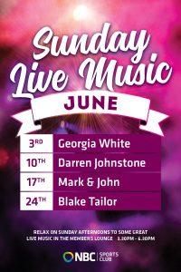 Free Sunday Entertainment June