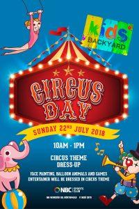 Kids Backyard – Circus Day