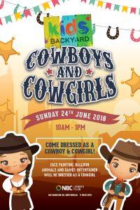 Kids Backyard – Cowboys & Cowgirls Day 2018