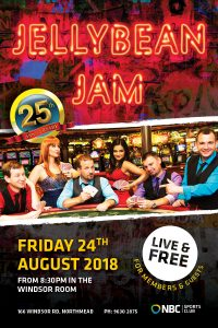 Jellybean Jam – August 2018