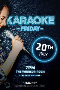 Karaoke Friday – July 2018