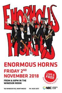 Enormous Horns – November 2018