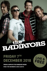 The Radiators – December 2018