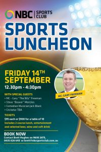 Sports Luncheon 2018