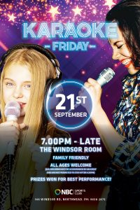 Free Sunday Entertainment September