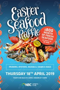 Easter Seafood Raffle