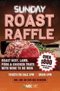 Sunday Roast Raffles