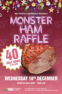 Monster Toy Raffle 2019