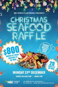 Seafood Raffle Xmas