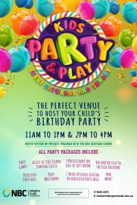 Kids Party 'n' Play Every Saturday