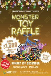 Monster Toy Raffle 2019