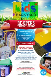 Kids Backyard Reopens