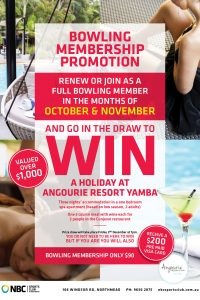 Bowling Member Promotion