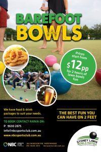 2021 Barefoot Bowls