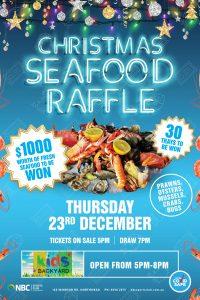 Christmas Seafood Raffle